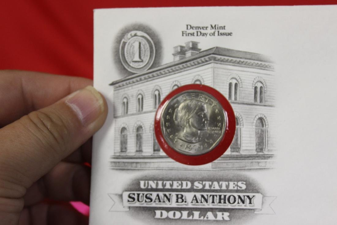 The US of America Susan B. Anthony Dollar coin - 6