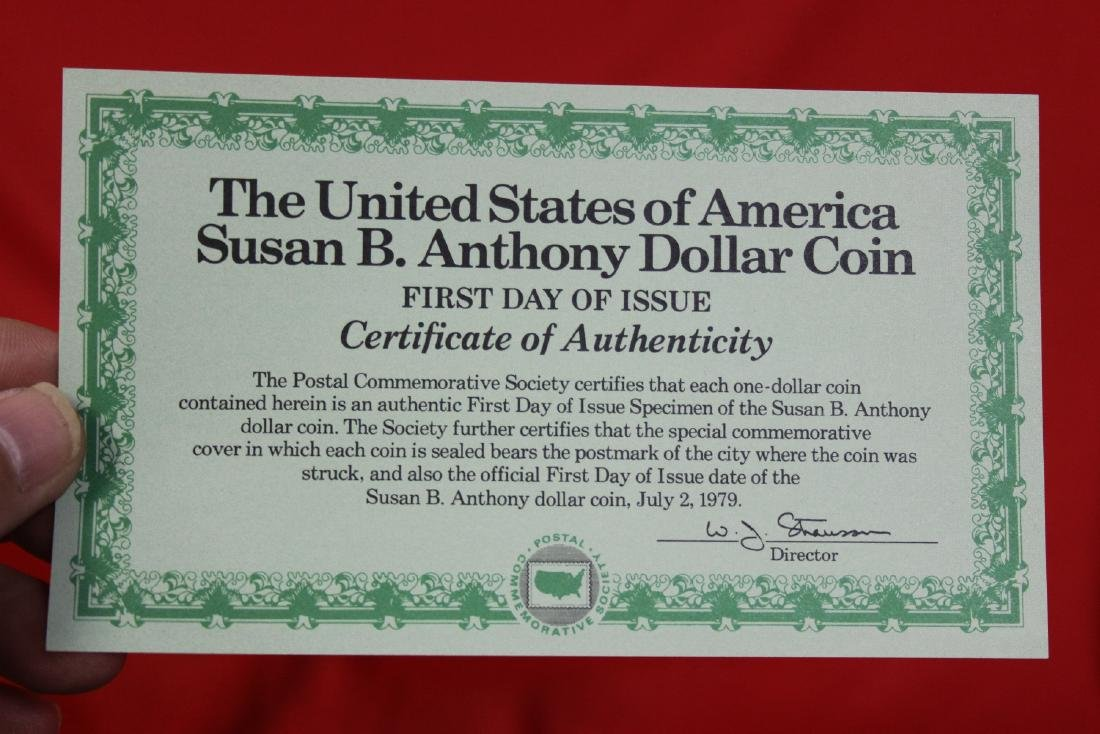 The US of America Susan B. Anthony Dollar coin - 8
