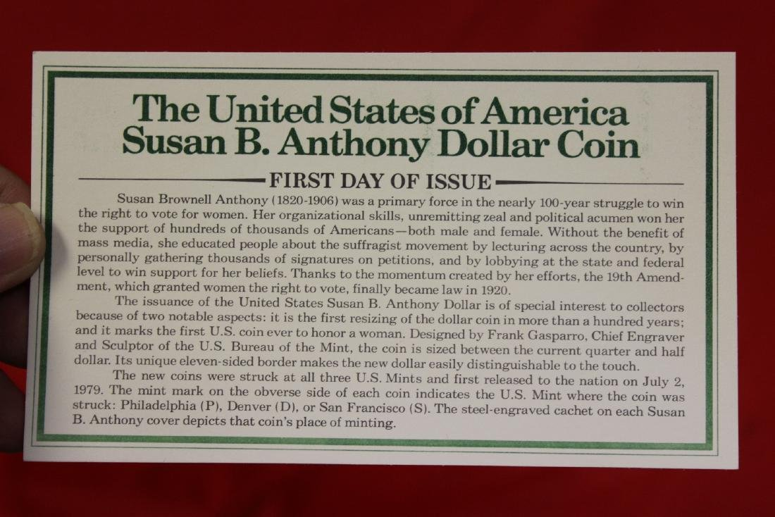 The US of America Susan B. Anthony Dollar coin - 9