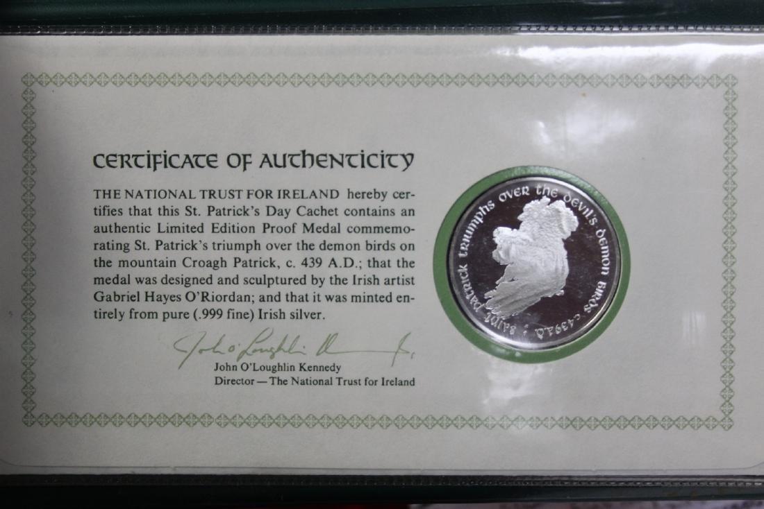 1975 St. Patrick's Day Commemorative Medal - 2