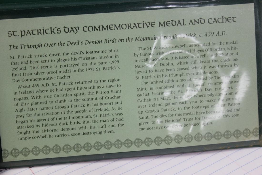 1975 St. Patrick's Day Commemorative Medal - 3