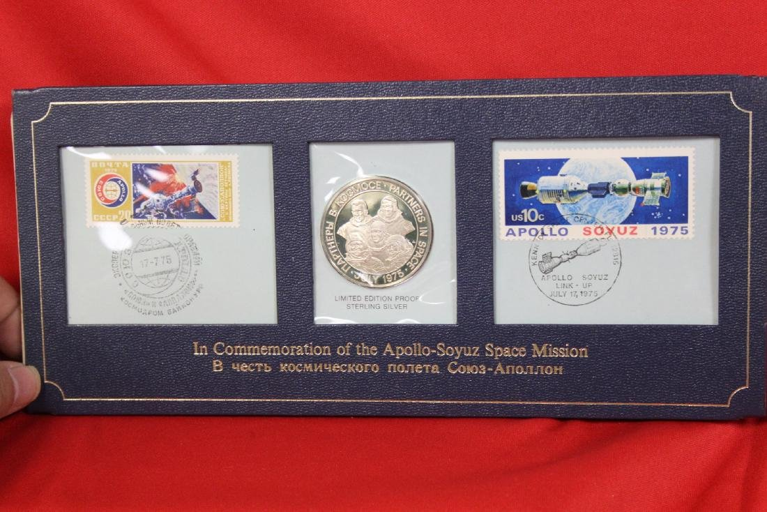 A Limited Edition Proof Sterling Silver Coin