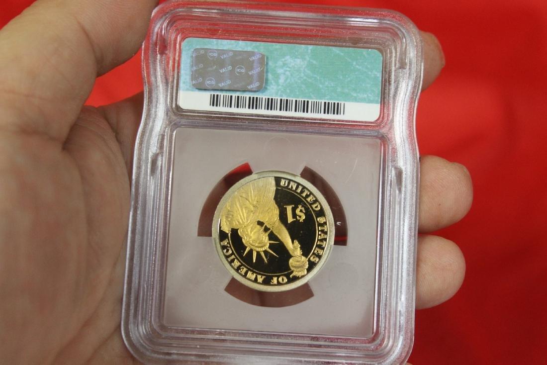 A 2007-S John Adams One Dollar Coin - 2