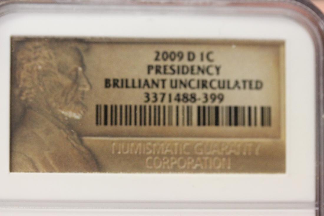 A Graded 2009-O 1c Presidency Penny - 3