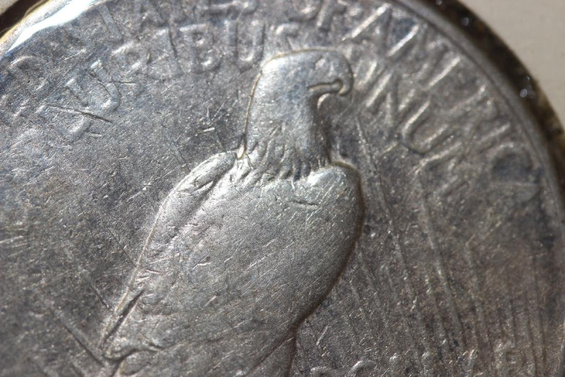 A 1922-S Peace Silver Dollar - 3
