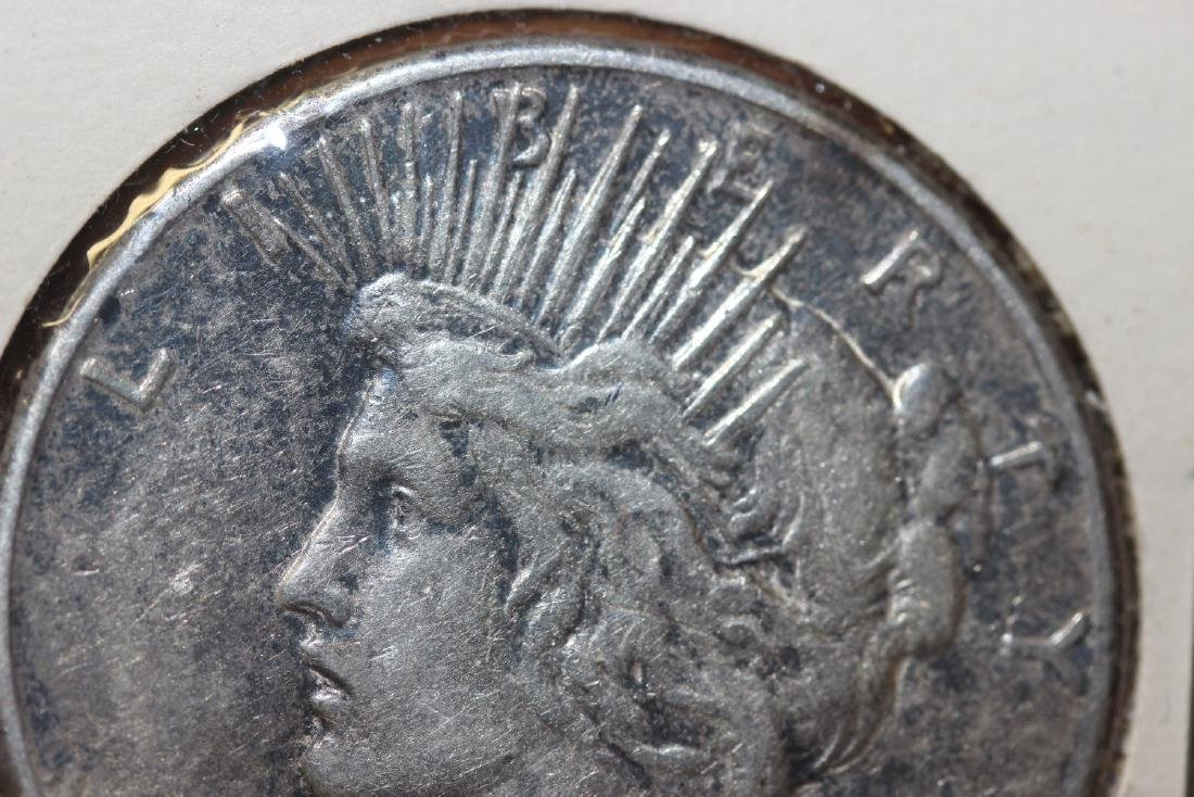 A 1922-S Peace Silver Dollar - 5