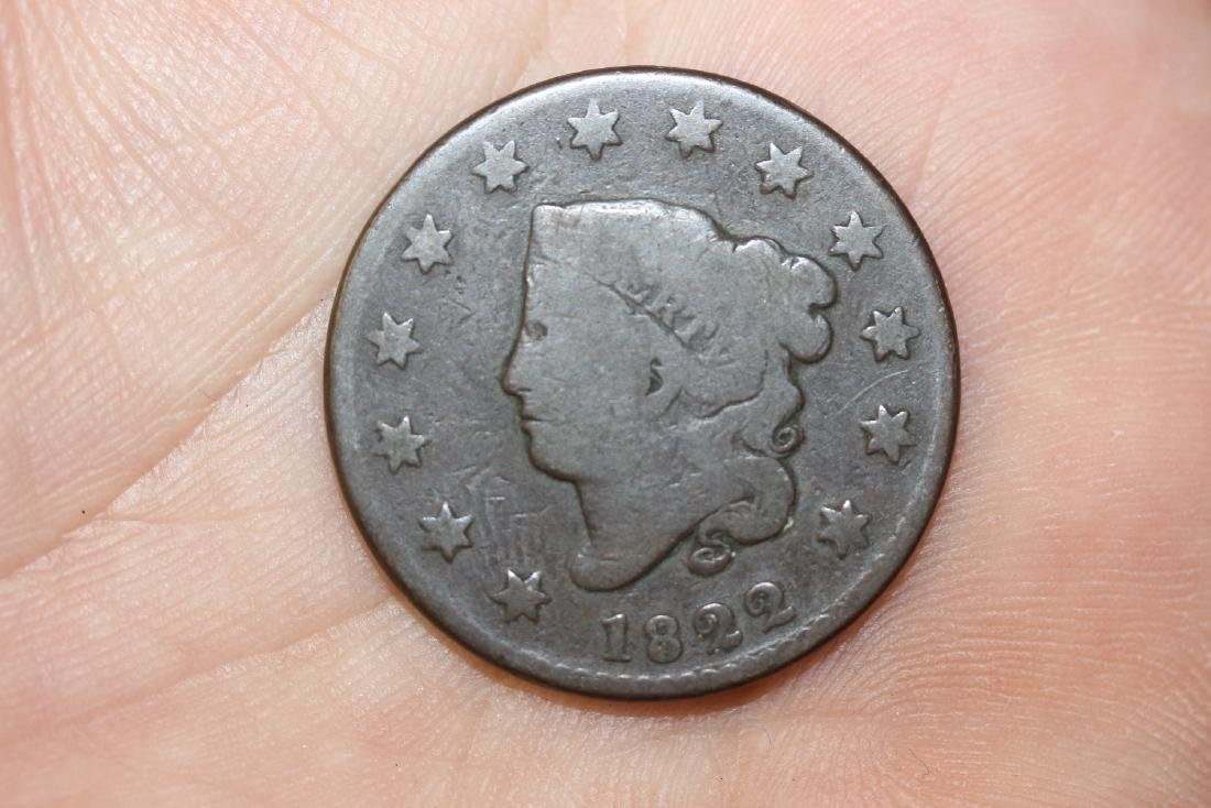 An 1822 Large Cent