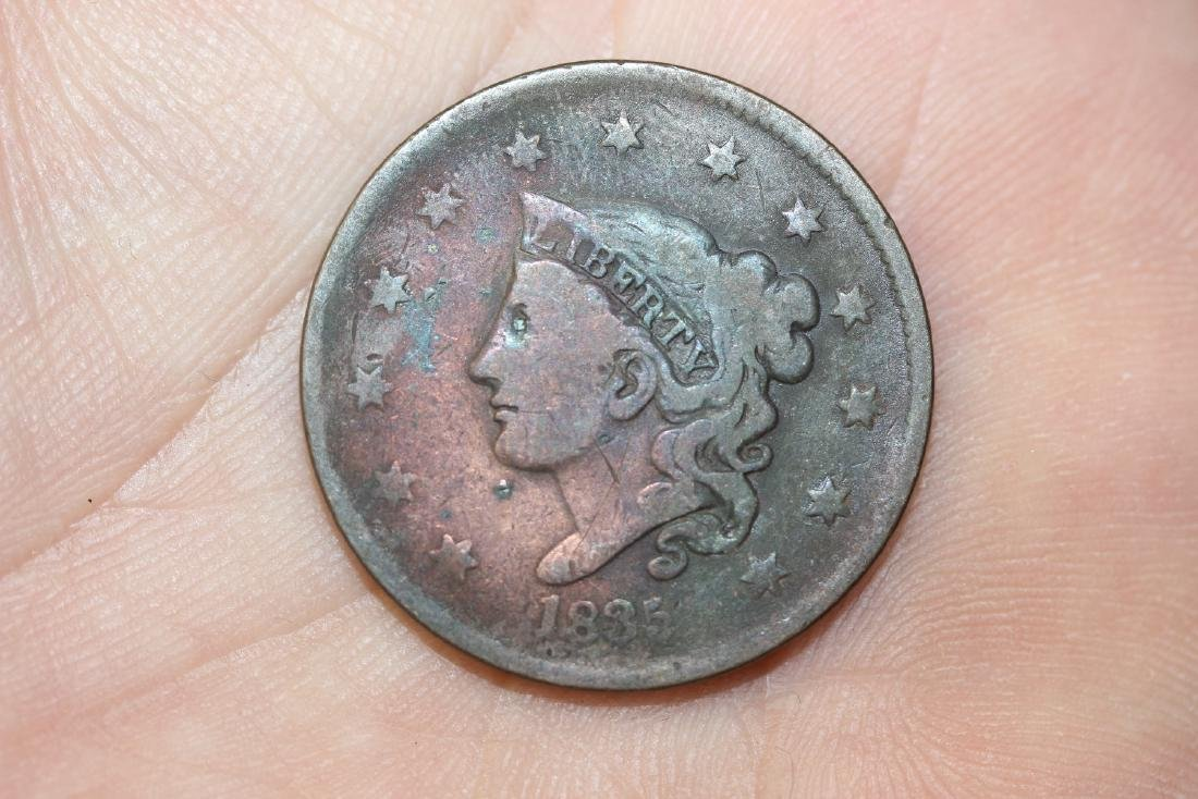 An 1835 Large Cent
