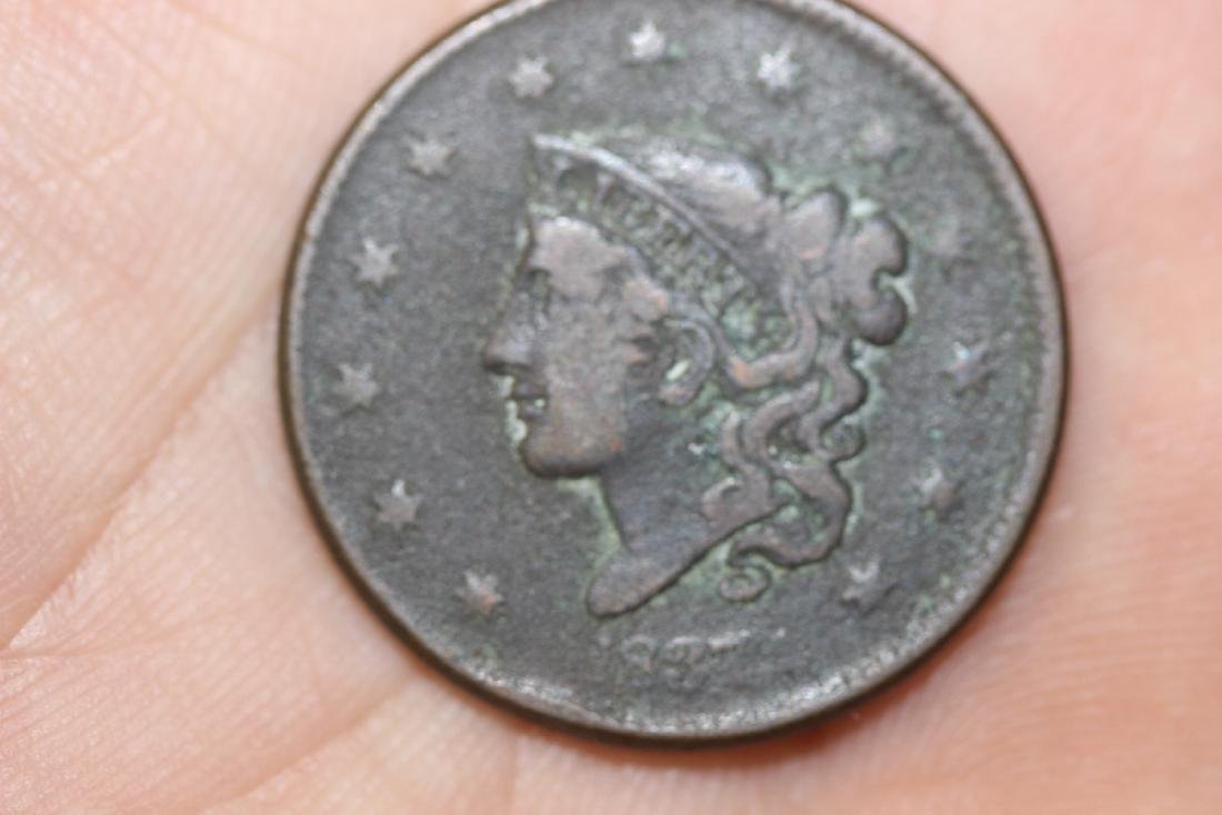 An 1837 Large Cent