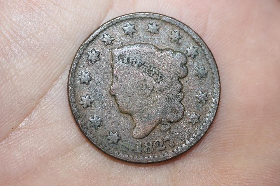An 1827 Large Cent