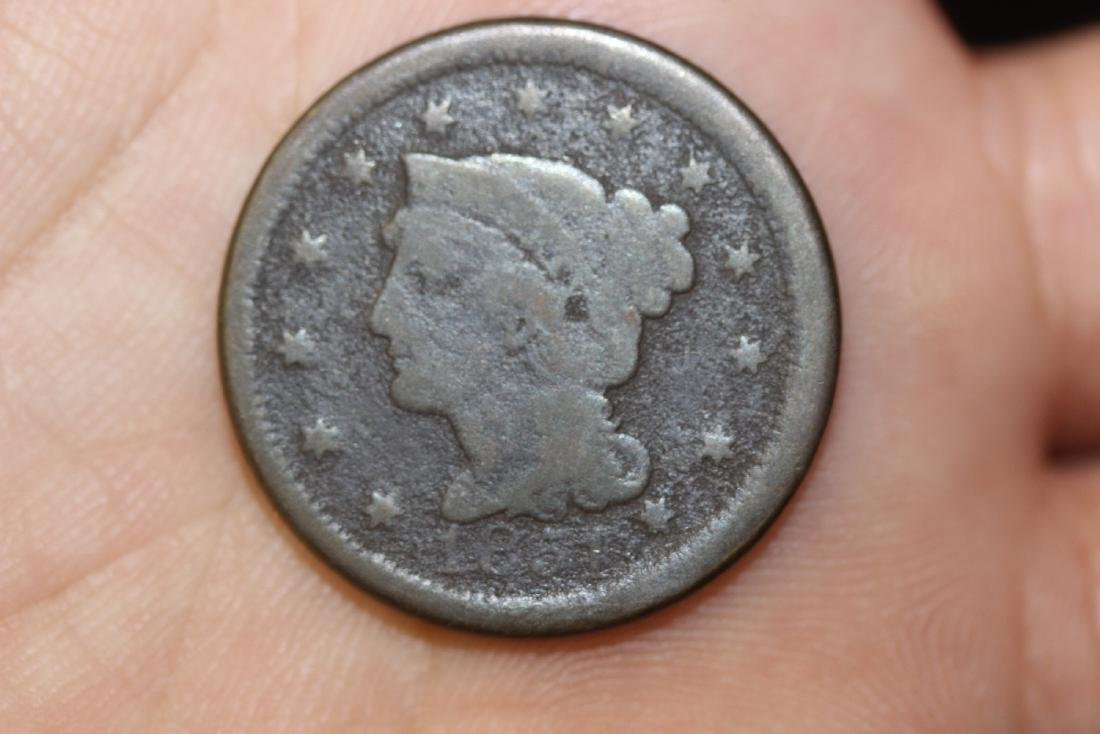 An 1851 Large Cent