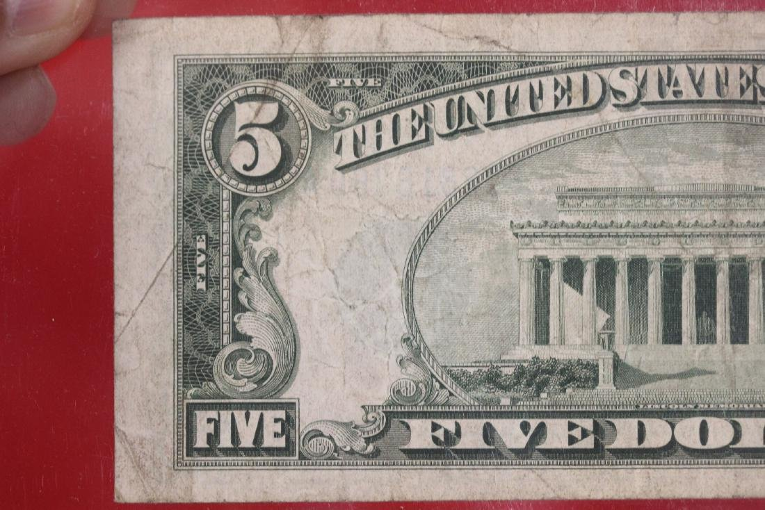 A 1934 $5.00 Note - 6