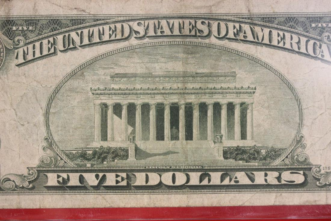 A 1934 $5.00 Note - 7