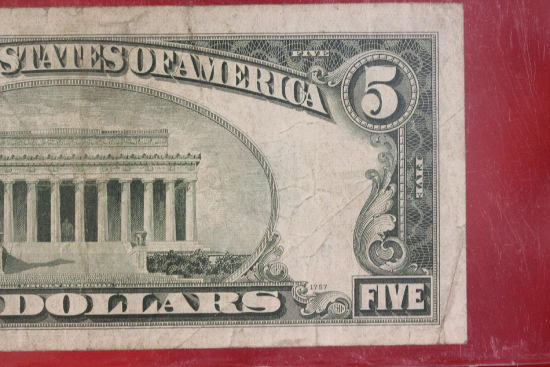 A 1934 $5.00 Note - 8