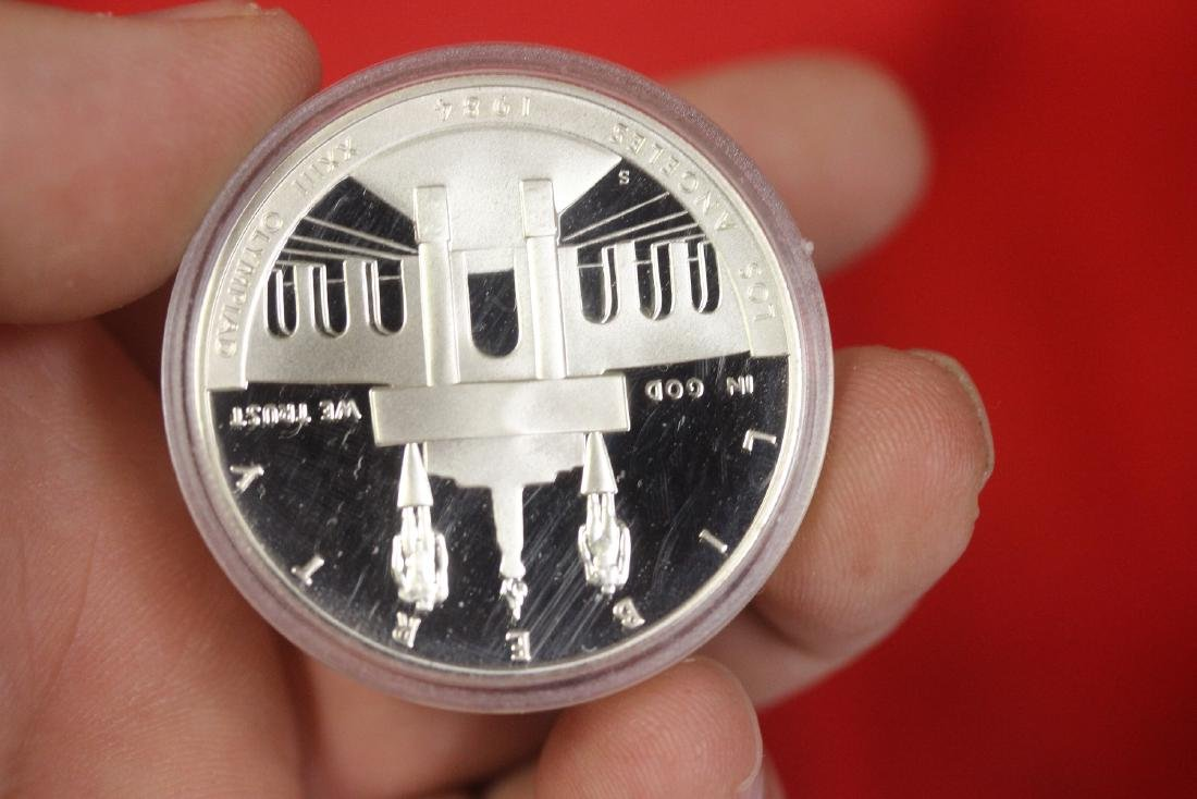 A 1984 Olympic Silver Coin - 2