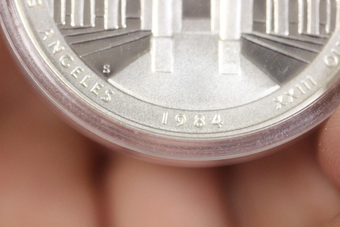 A 1984 Olympic Silver Coin - 6