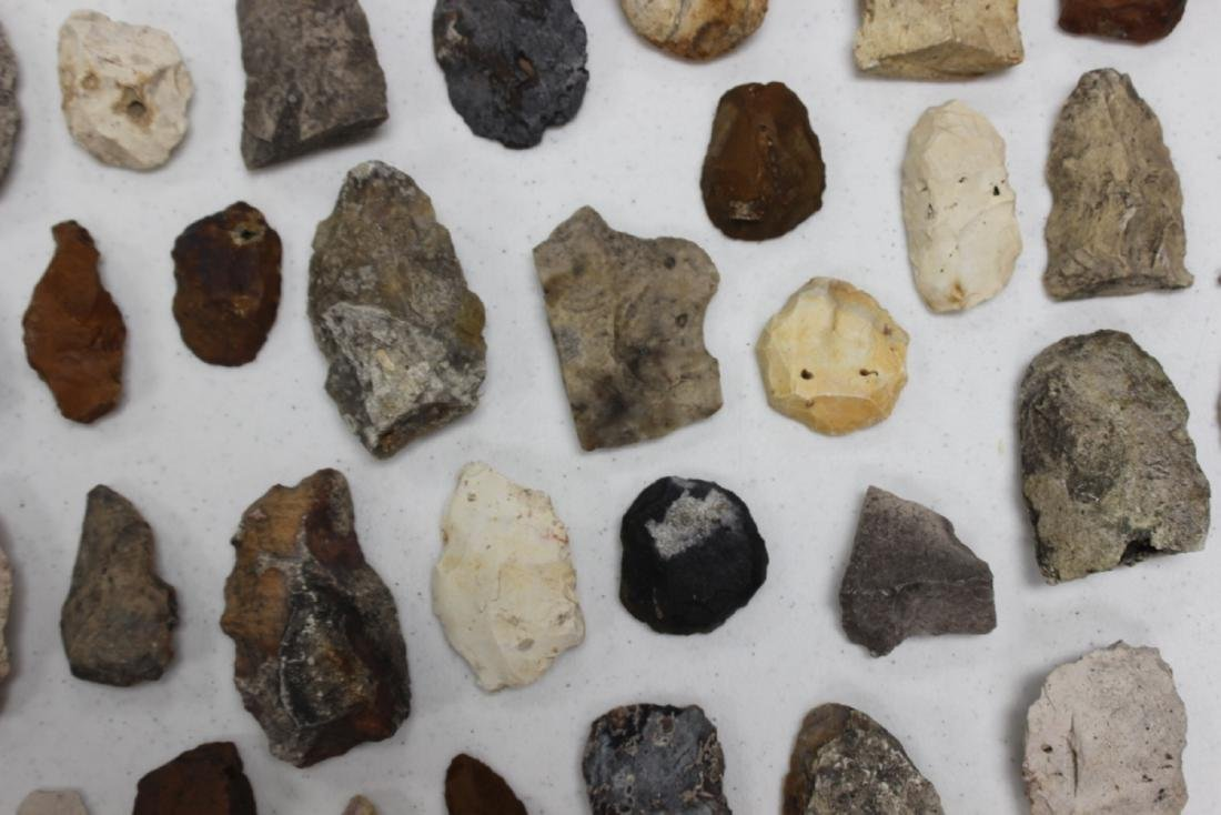 A Lot of 36 Indian Stone Tools. Indian Artifacts - 6