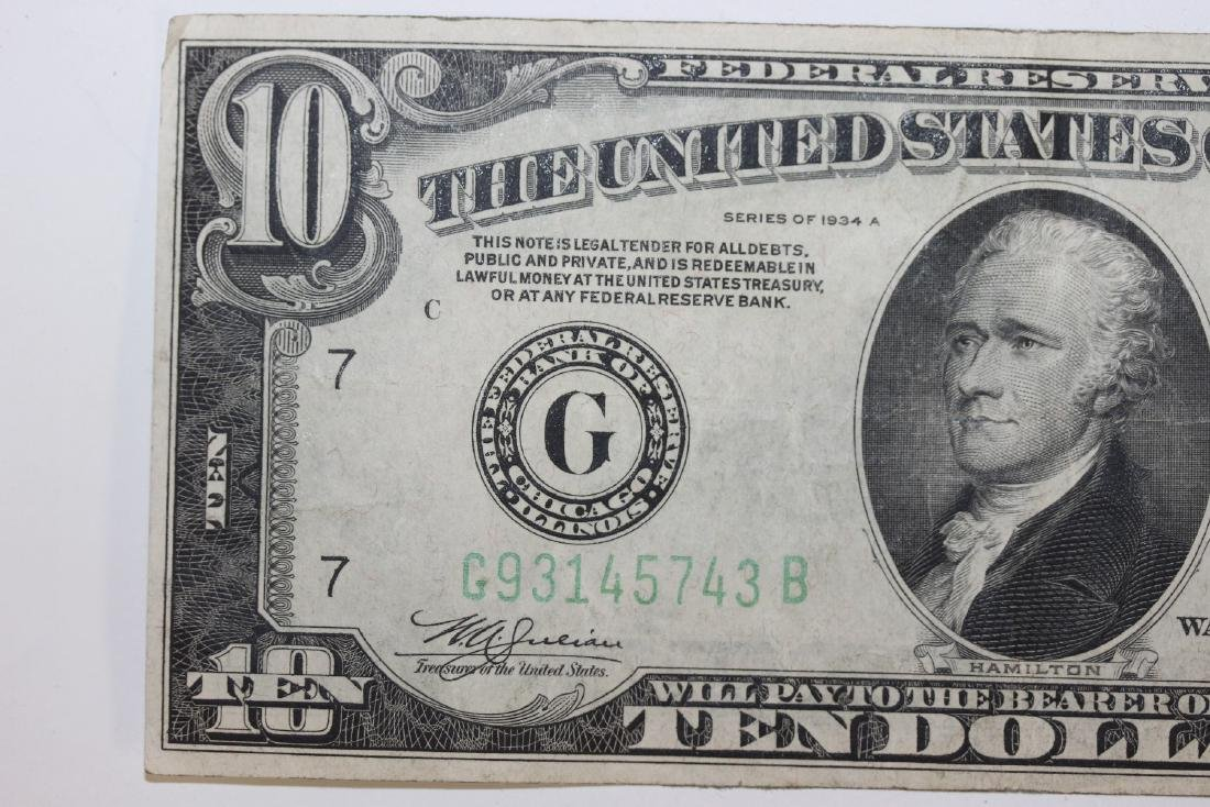 A 1934 $10.00 Note - 3