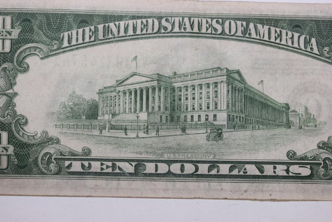 A 1934 $10.00 Note - 6