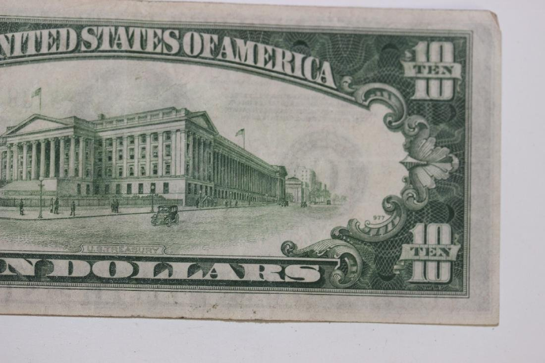 A 1934 $10.00 Note - 7
