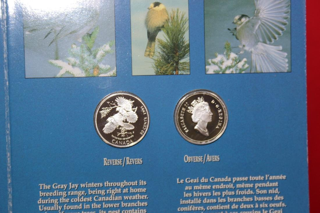 Canadian  Silver Four Coin Set