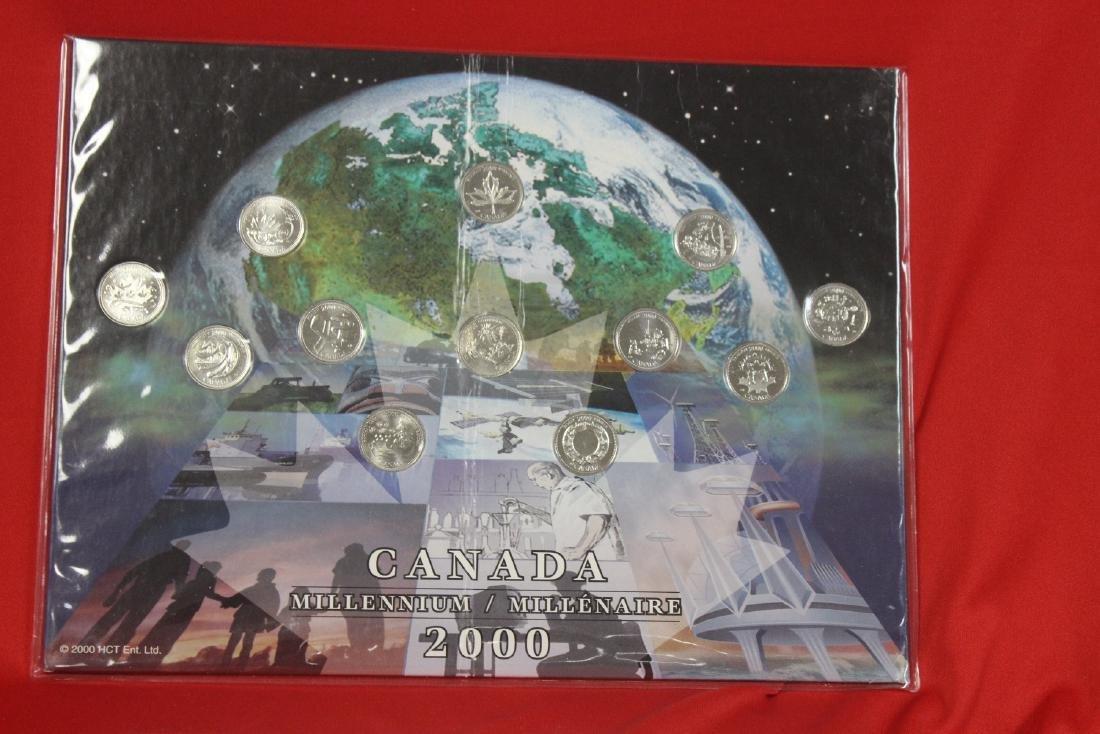 2000 Canada Millenium Coin Set