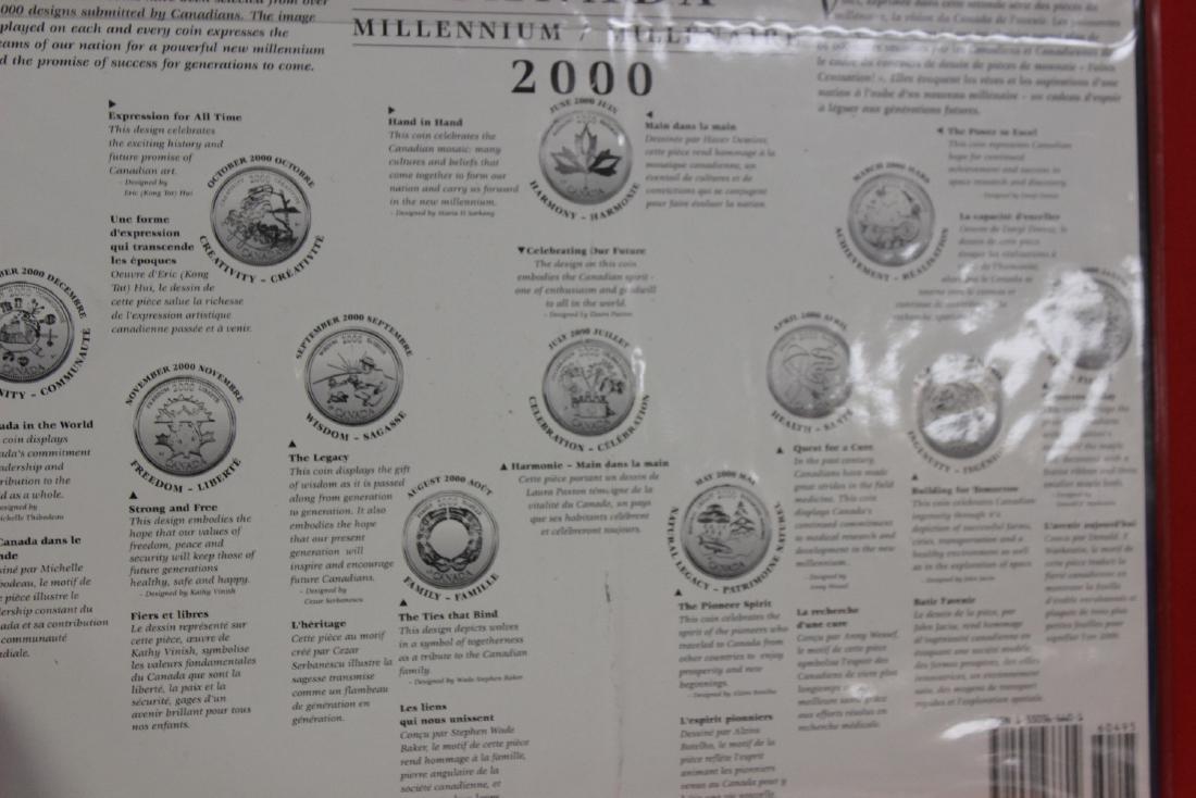 2000 Canada Millenium Coin Set - 3