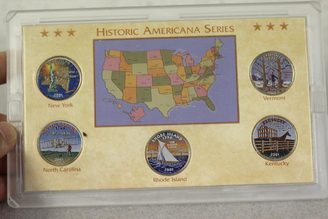 Historic Americana Series Coin Set