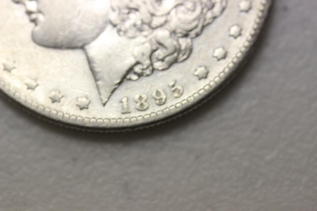 A Very Rare 1895-S Morgan Silver Dollar