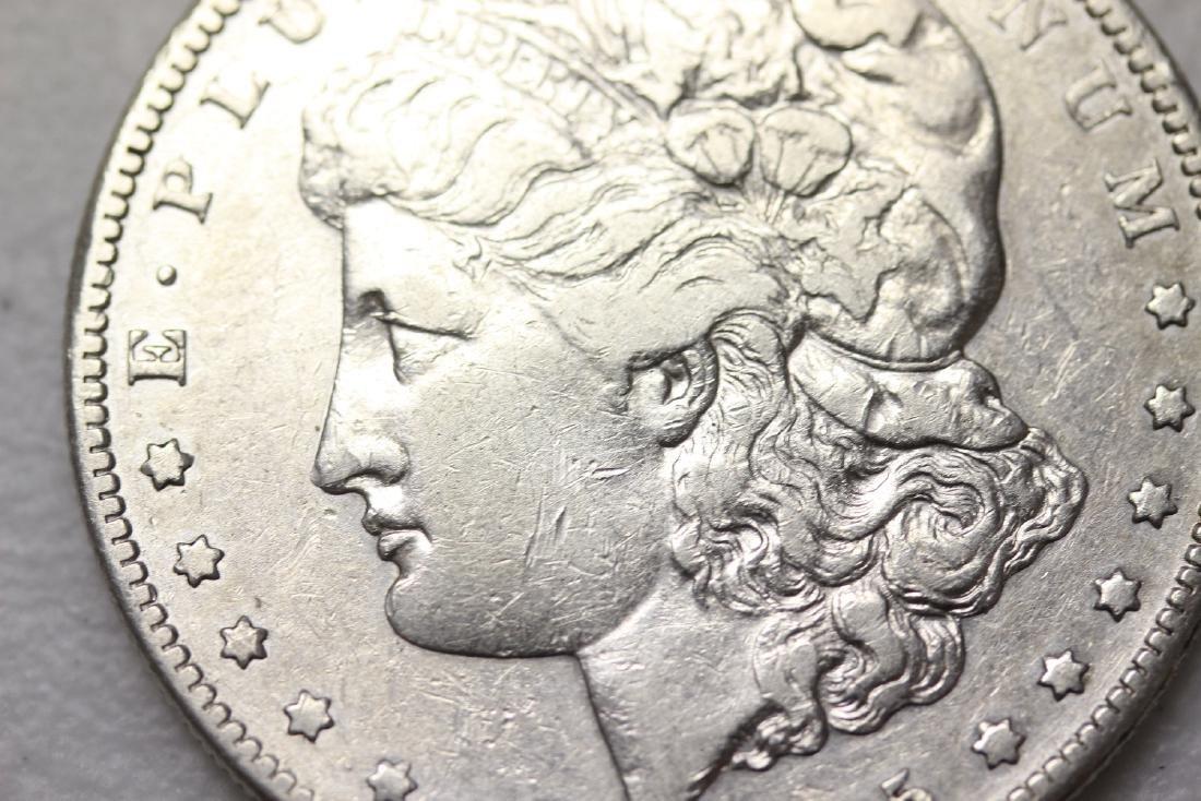 A Very Rare 1895-S Morgan Silver Dollar - 2