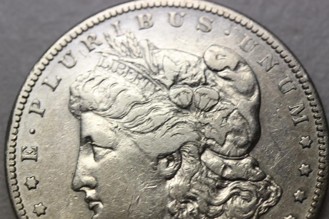 A Very Rare 1895-S Morgan Silver Dollar - 3