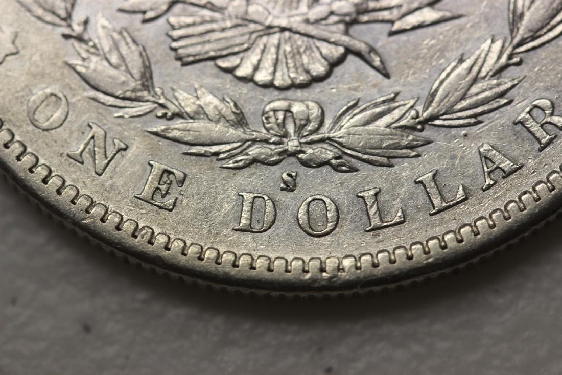 A Very Rare 1895-S Morgan Silver Dollar - 5