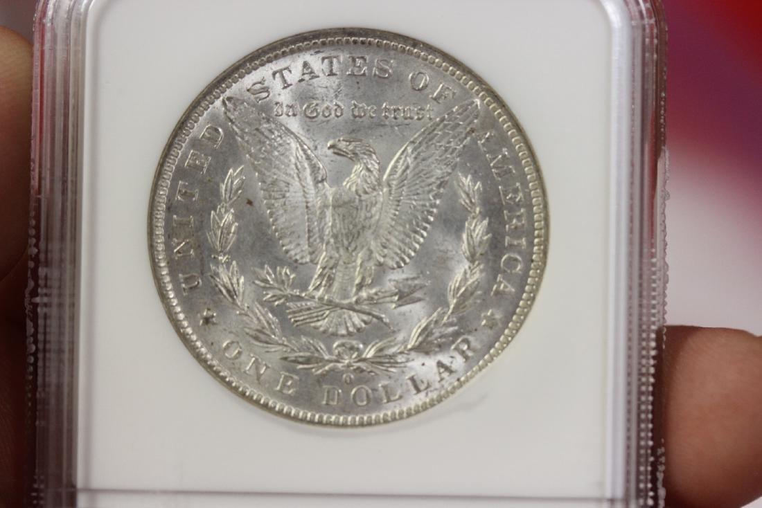 A Graded 1884-O Morgan Silver Dollar - 4