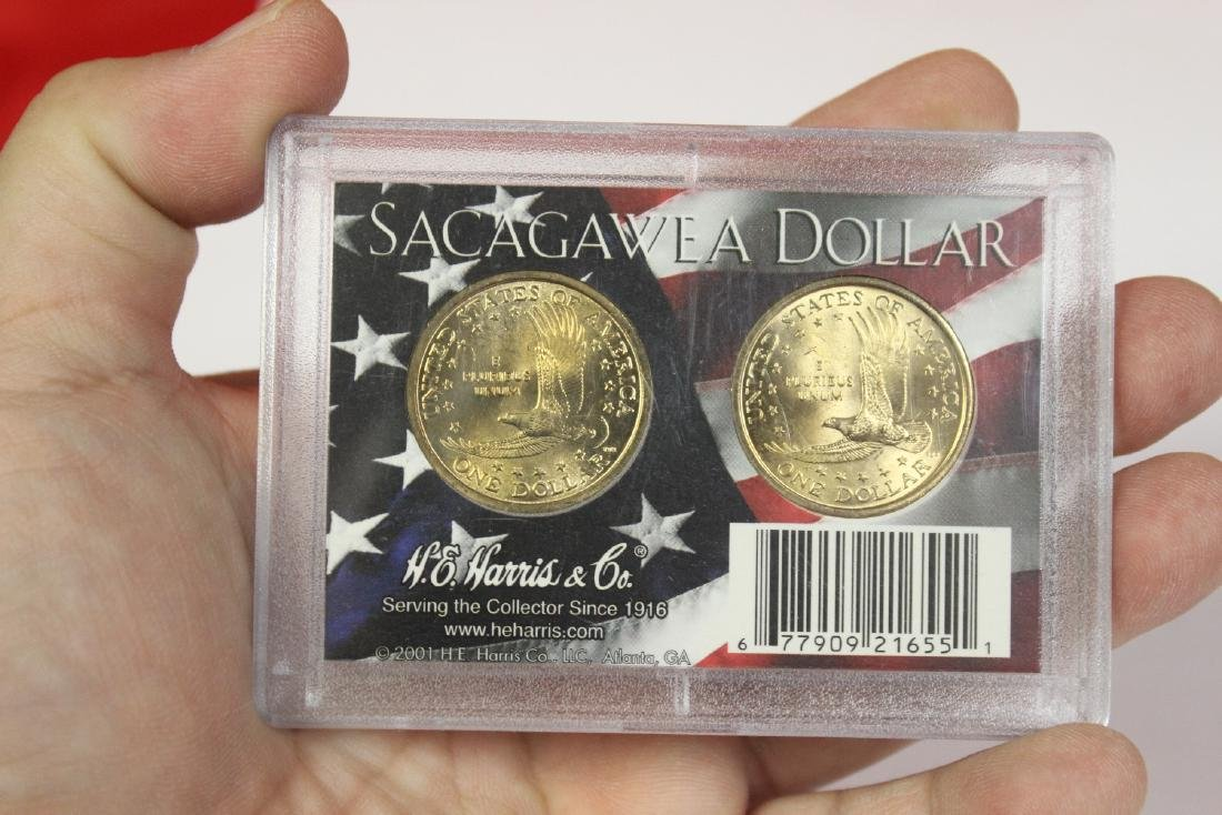 Lot of 2 Coin Sets - 2