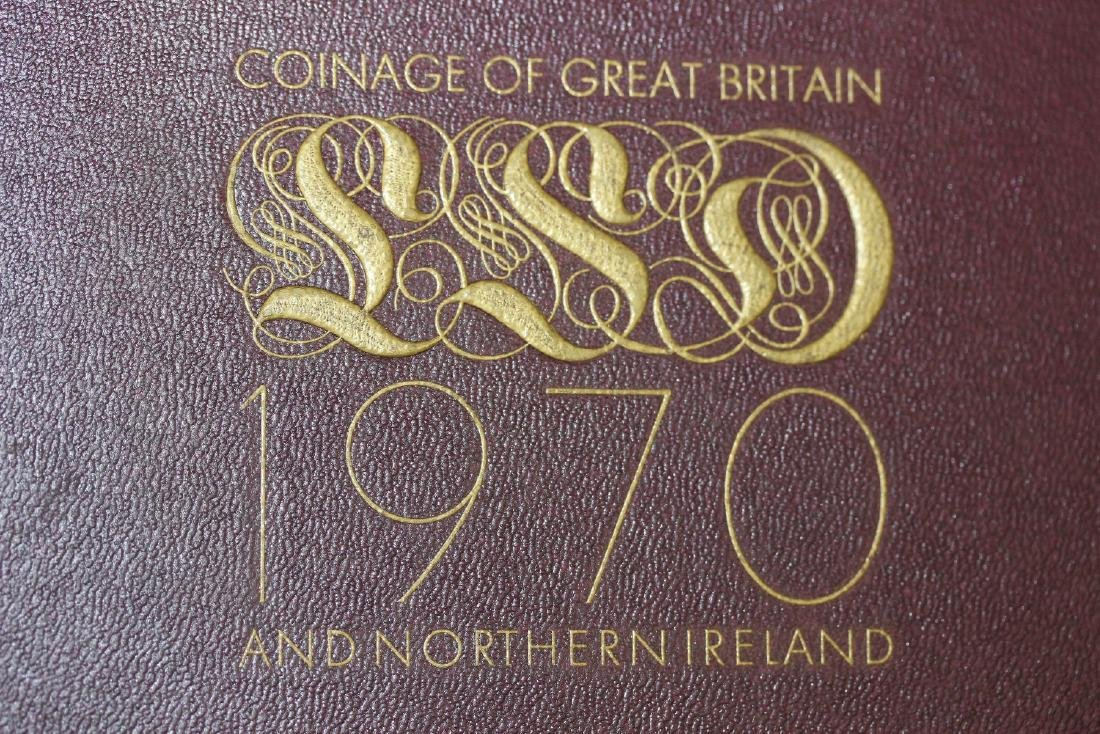 Coinage of Great Britain - 1970 - 4