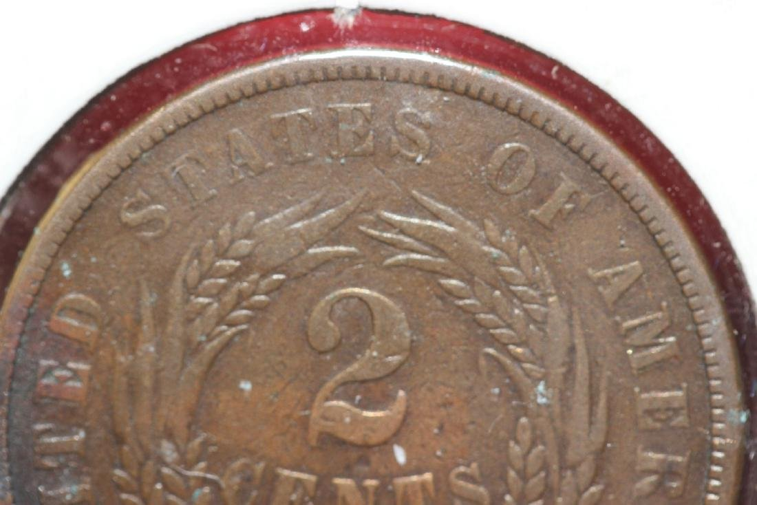 An 1867 Two Cents - 3