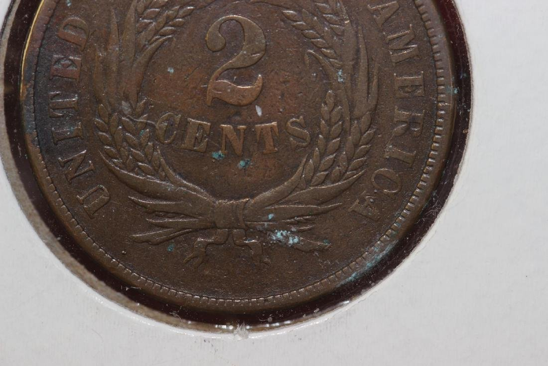 An 1867 Two Cents - 4