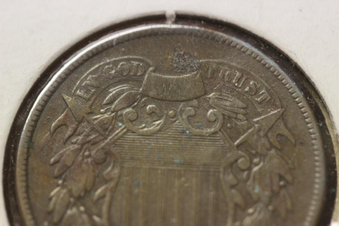 An 1867 Two Cents - 6