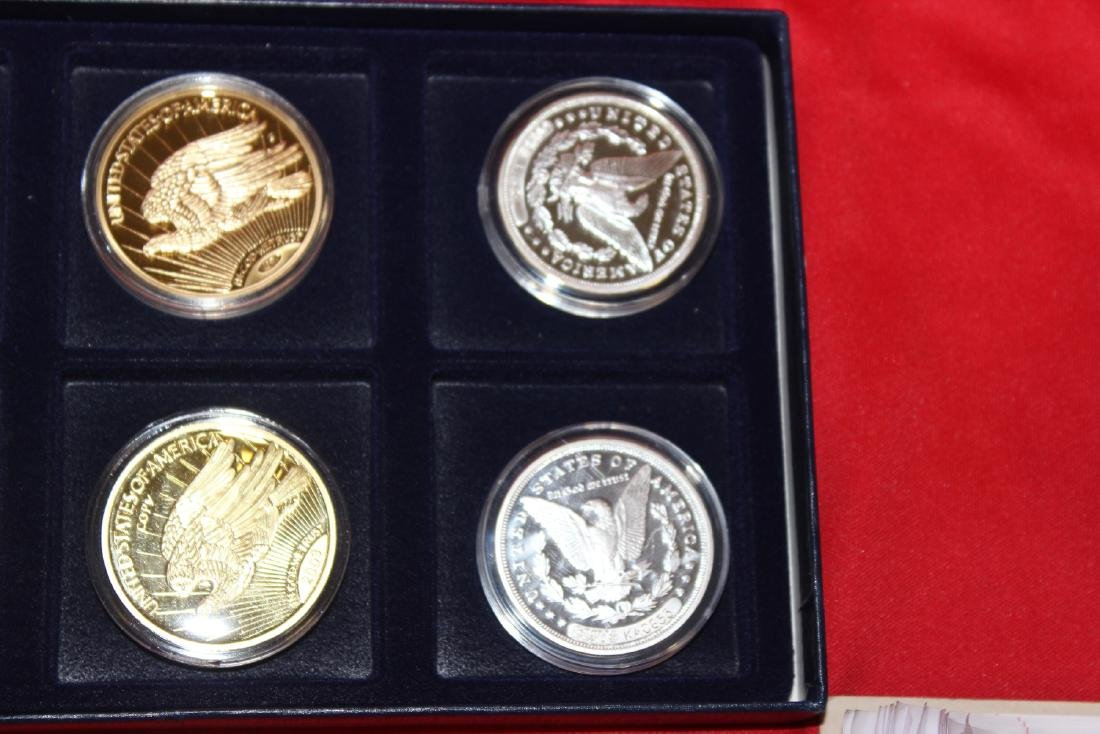 Lot of 6 Fantasy Coins and Copies - 4