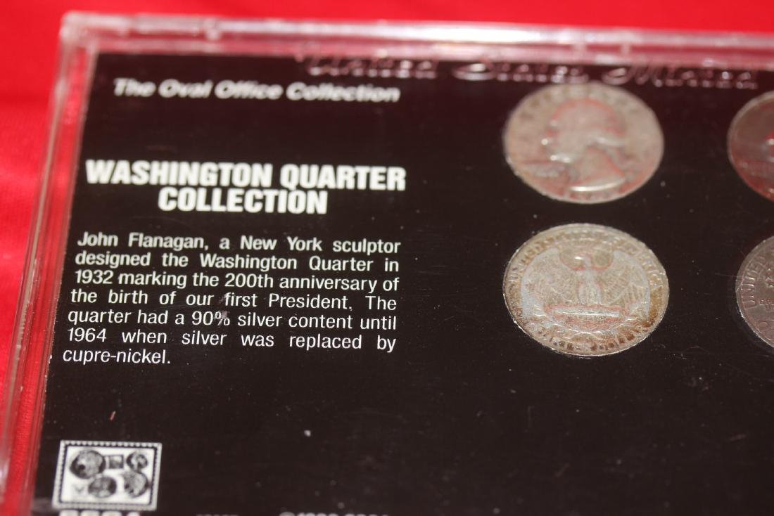 Oval Office Collection Washington Quarters - 4