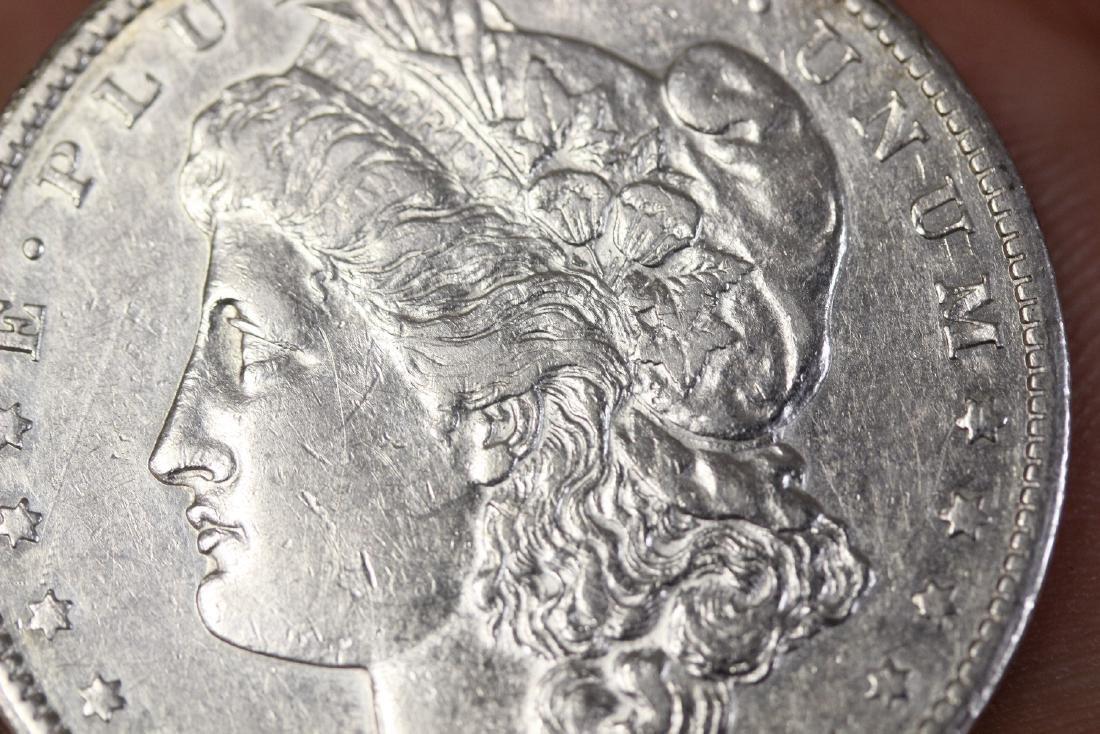 An 1878 CC Morgan Silver Dollar - 4