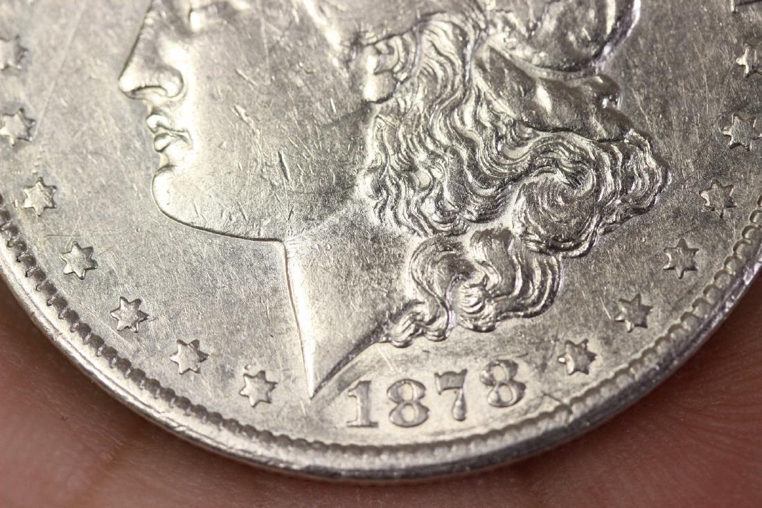 An 1878 CC Morgan Silver Dollar - 5