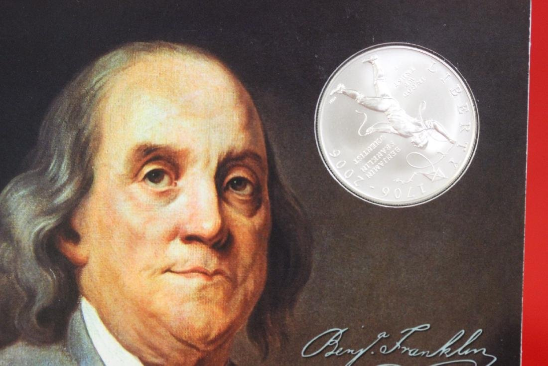 Benjamin Franklin Coin and Chronicles Set