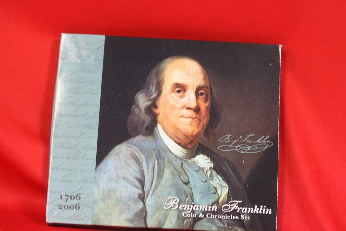 Benjamin Franklin Coin and Chronicles Set - 2