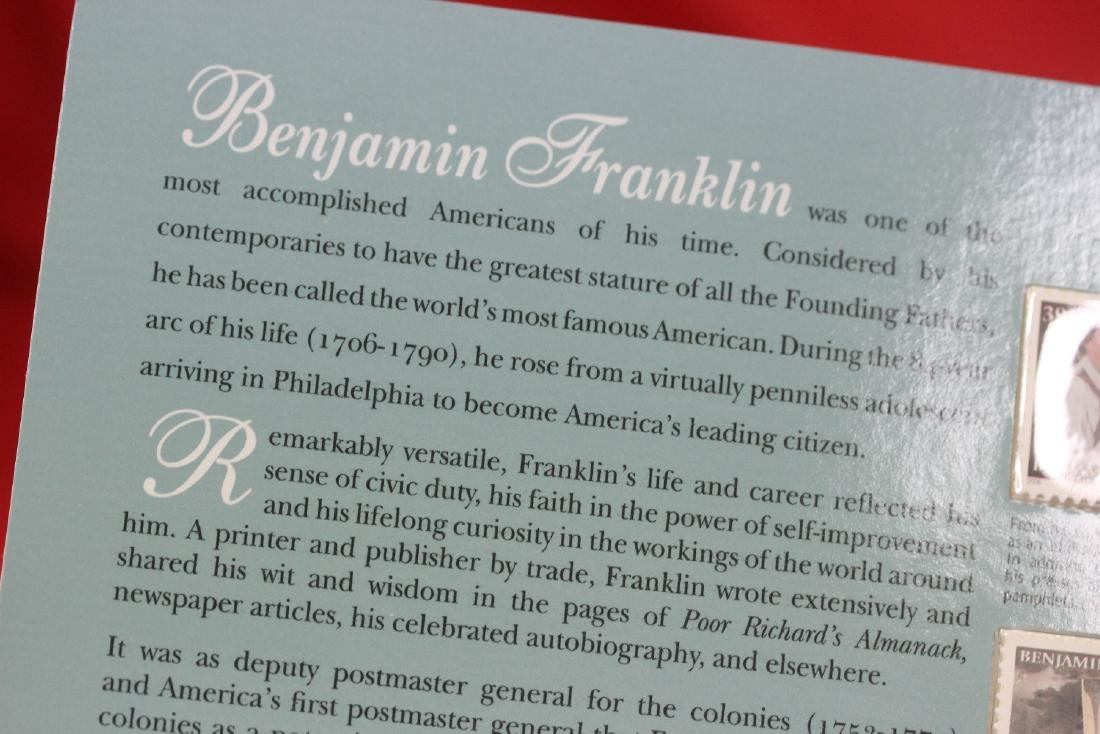 Benjamin Franklin Coin and Chronicles Set - 7