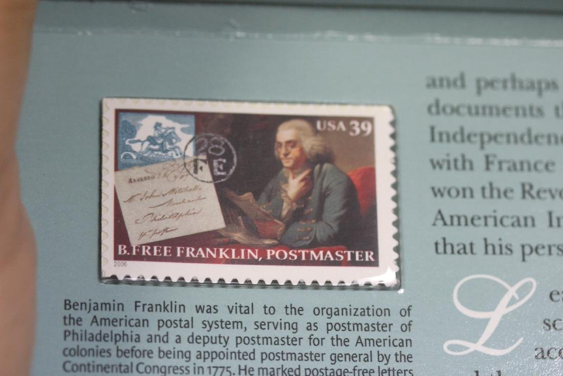 Benjamin Franklin Coin and Chronicles Set - 8