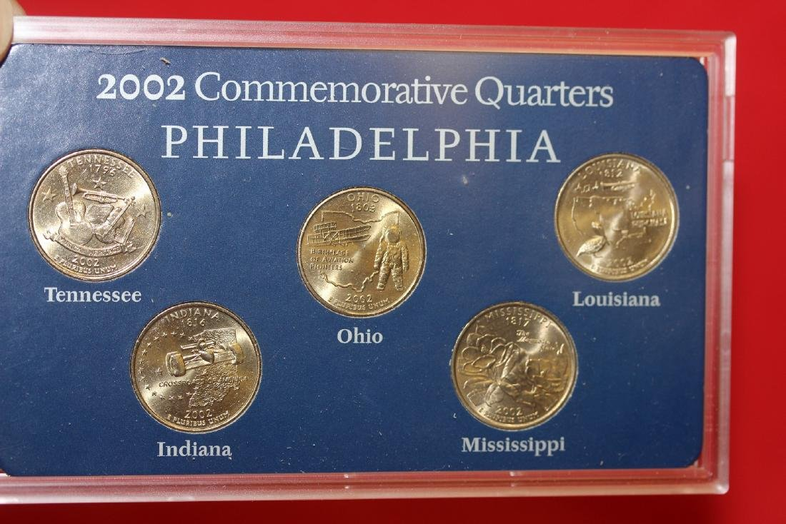 2002 Commemorative Quarters - 2