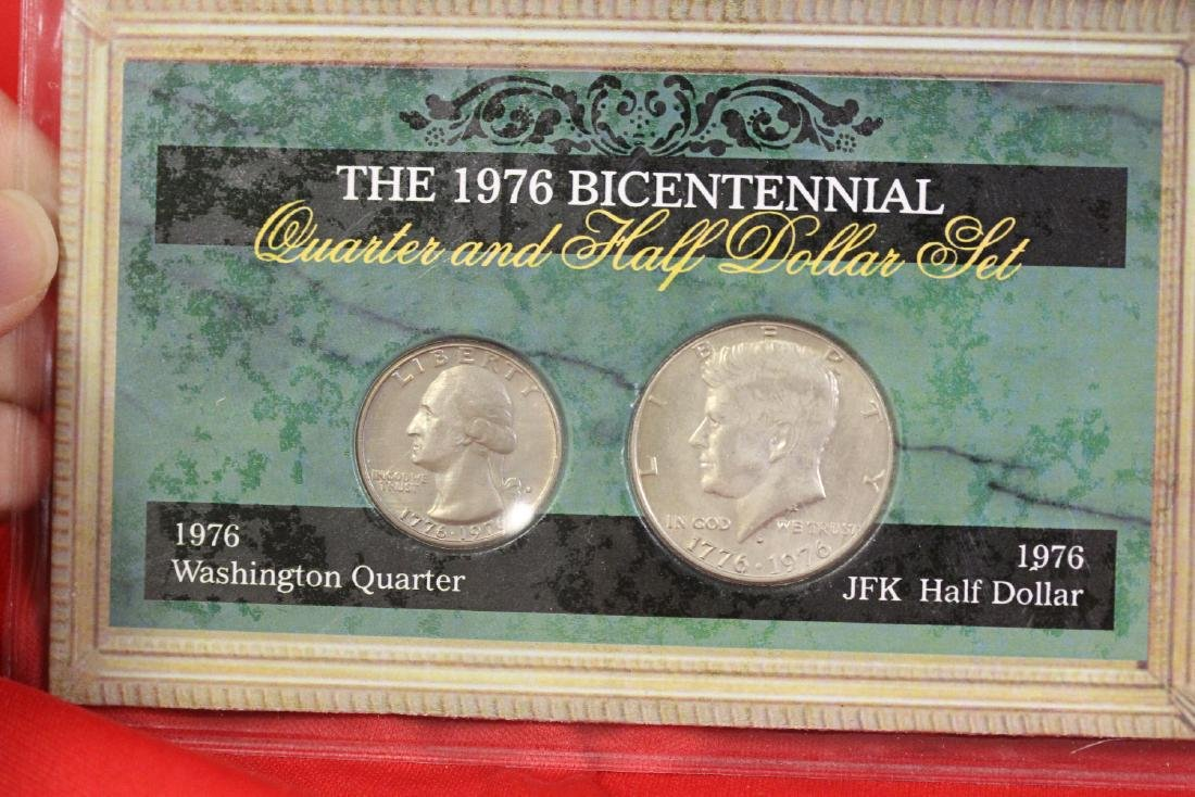 The 1976 Bicentennial Quarter and Half Dollar Set