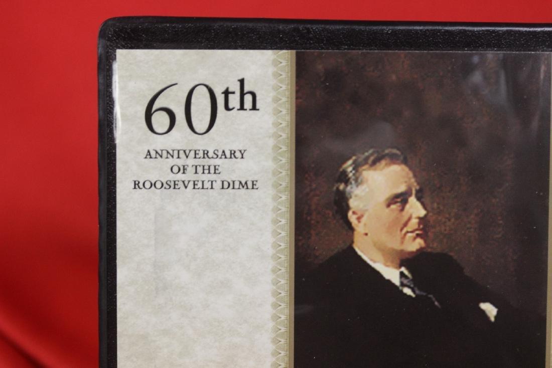 First Commemorative Mint - Roosevelt Dimes