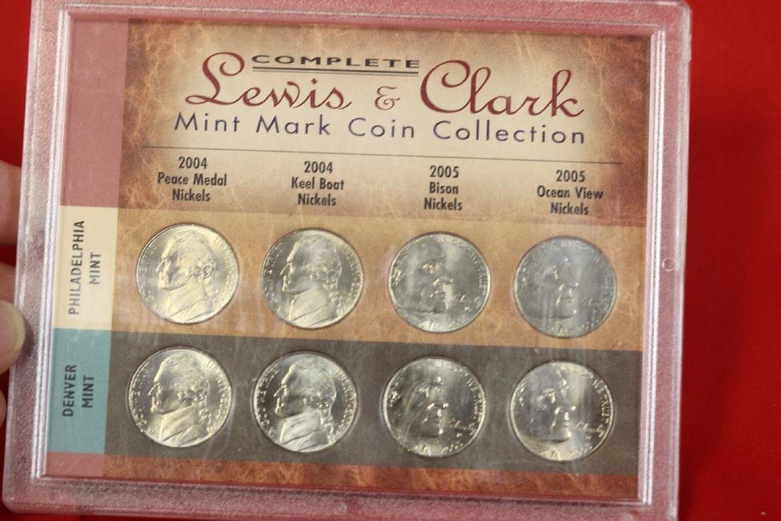 Lewis and Clark Nickel Set